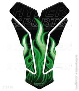 green flame tank pad calibrex