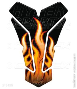 flame tank pad calibrex st049n