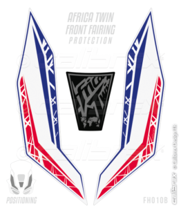Honda africa twin front fairing protection pads