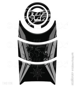 honda africa twin black tank pad calibrex