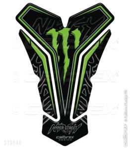 calibrex monster energy motorcycle tank pad