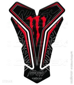 monster energy tank pad calibrex