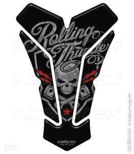 rolling thunder motorcycle tank pad calibrex st027