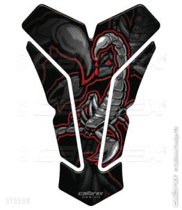 venom motorcycle tank pad calibrex st050r