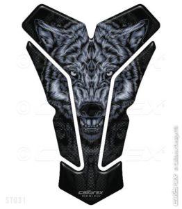 wolf motorcycle tank pad calibrex st031