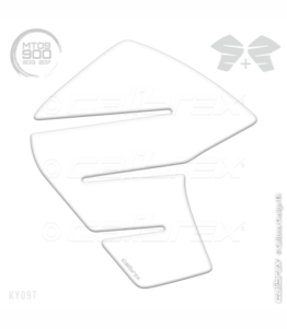 Yamaha MT09 Knee Pads Transparent Calibrex KY09T