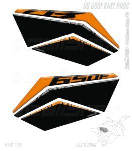 honda cb 650f knee pads calibrex