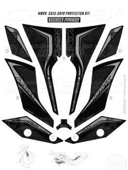 yamaha nmax tank pad calibrex